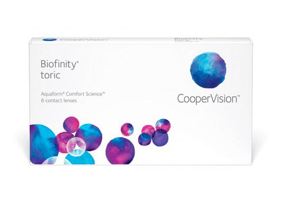 Biofinity Toric (6 lentilles)
