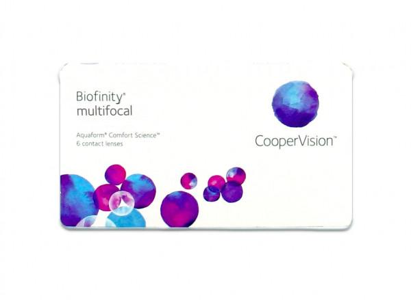 Biofinity Multifocal - Lentille D (6 lentilles)