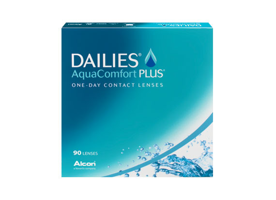 Dailies AquaComfort Plus (90 lentilles)