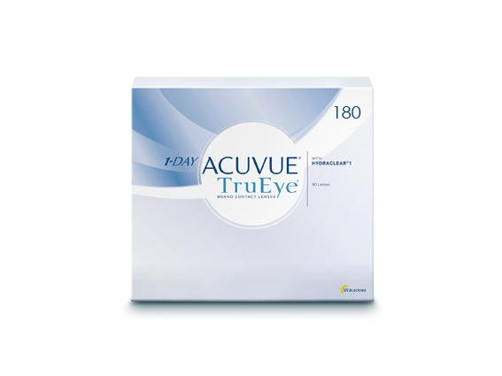 1-Day Acuvue Trueye (180 lentilles)