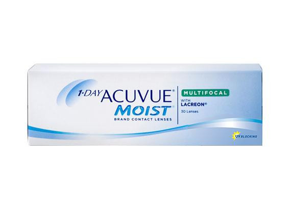 1-Day Acuvue Moist Multifocal (30 lentilles)