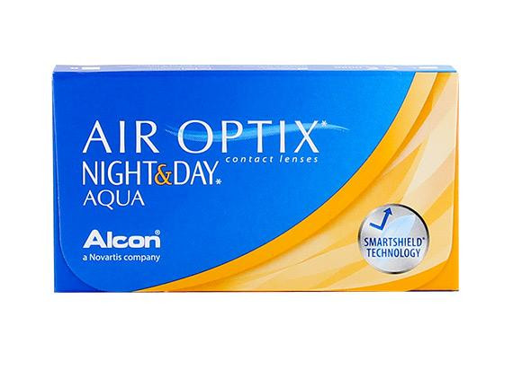 Air Optix Night & Day Aqua (6 lentilles)