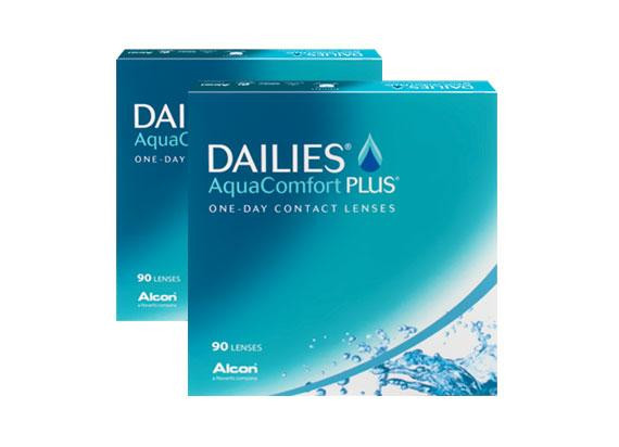 Dailies AquaComfort Plus (180 lentilles)