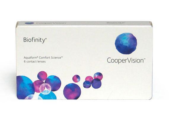 Biofinity (6 lentilles)