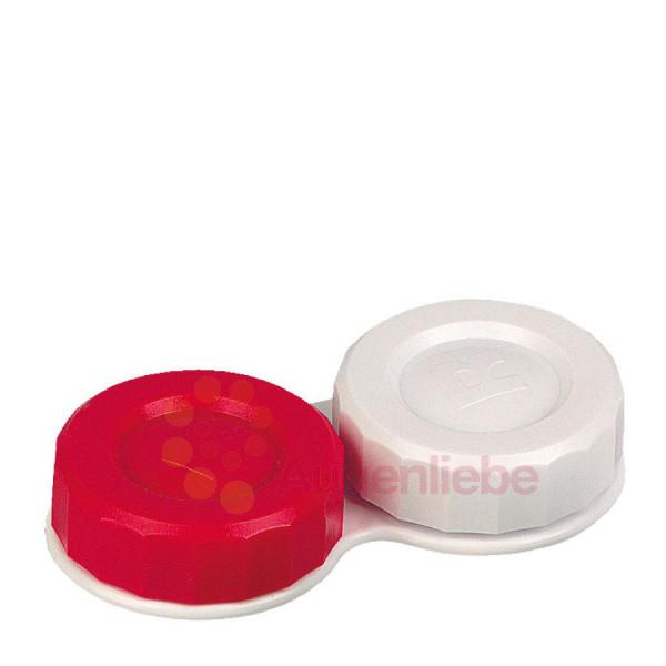 Flat-Case rouge/blanc
