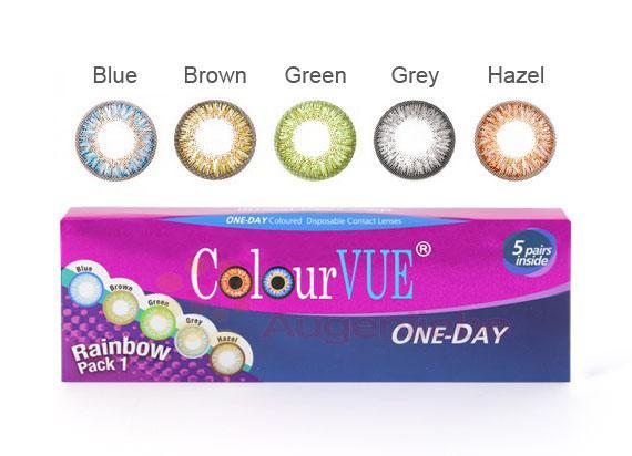 TruBlends One-Day Rainbow Pack 1 (Journalières) (10 lentilles)