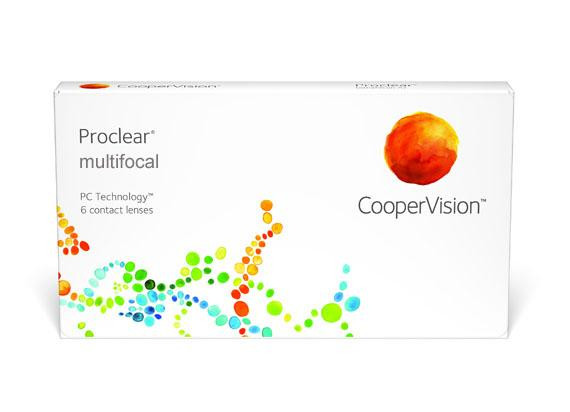 Proclear Multifocal - Lentille D (6 lentilles)